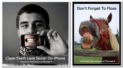 IPhone Savior Dental Group Defends Toothy Ads